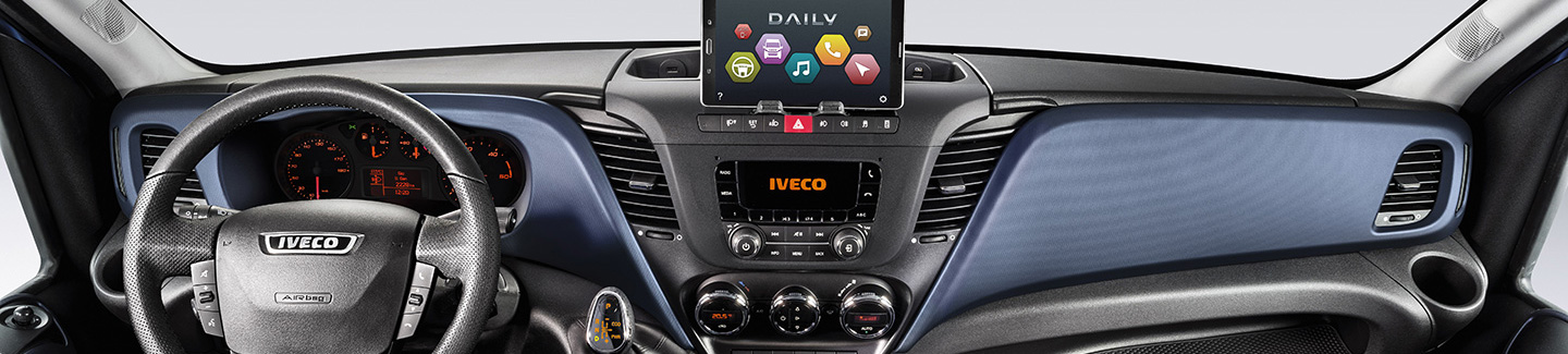 New Daily IVECO - connectivity dashboard