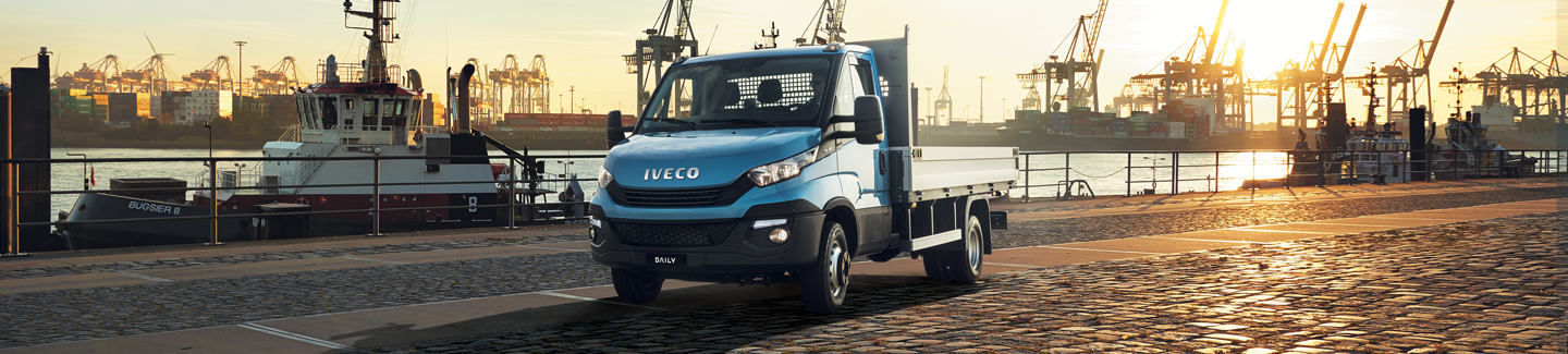 New chassis cab Daily IVECO - advanced engine and transmission technologies