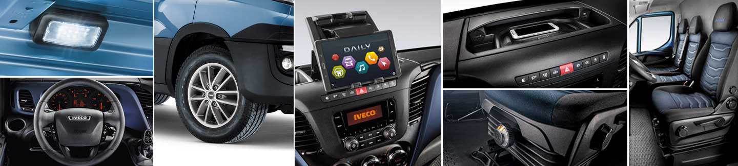 Nuovo Daily IVECO - accessori e optional