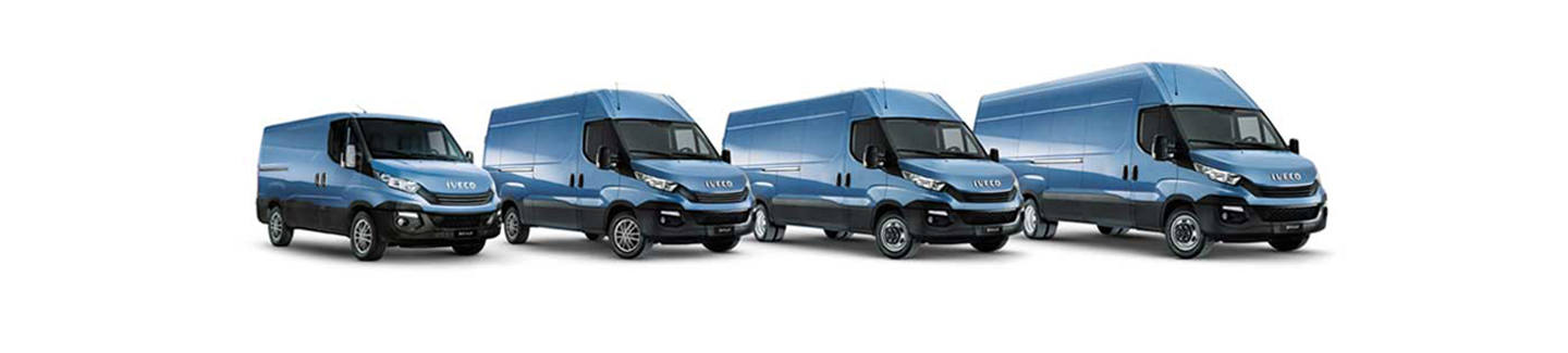 New van Daily IVECO -transport versatility