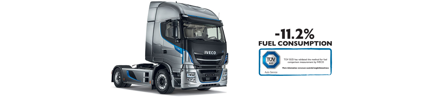 New truck STRALIS XP IVECO