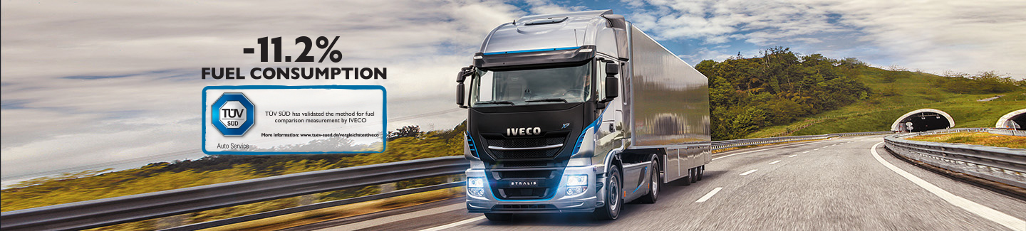 Solution de transport TCO2 Live - Nouveau Stralis Iveco