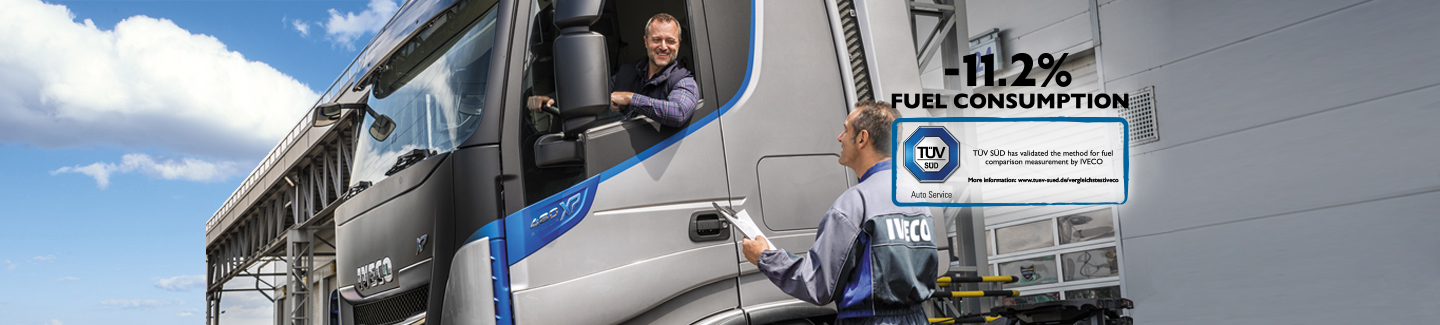 UPTIME GUARANTEE and TRUCK STATION network - New truck STRALIS XP IVECO