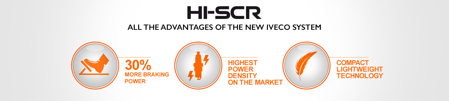 ALL THE ADVANTAGES OF THE NEW IVECO HI-SCR SYSTEM