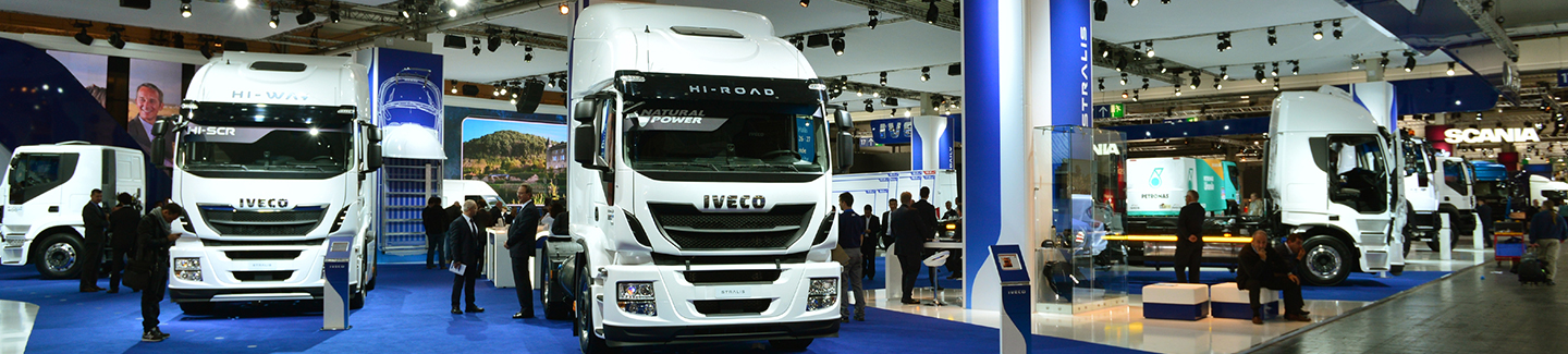 Iveco at the IAA Motor Show 2014 in Hanover
