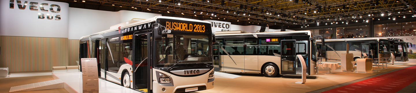 Iveco Bus at Busworld Kortrijk 2013