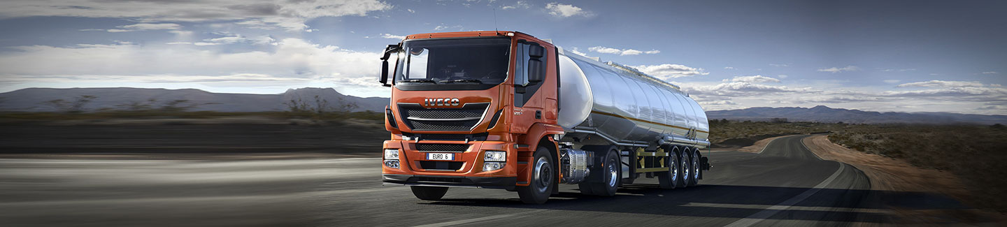 The showcase area for medium and heavy vehicles: Stralis and Eurocargo, savings champions