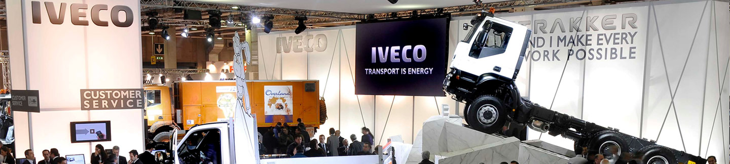 Iveco at the RAI in Amsterdam with the new Stralis LNG Natural Power