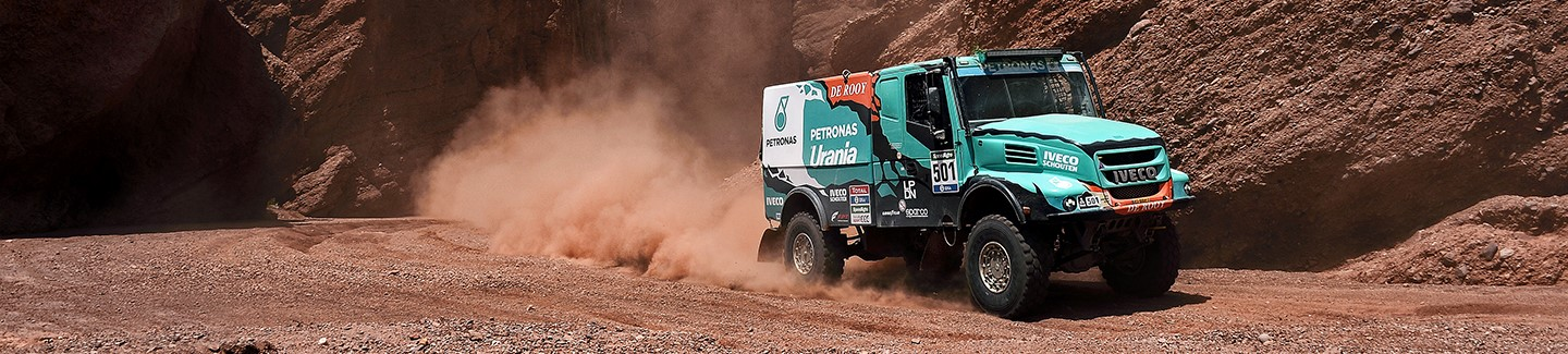 Gerard de Rooy victory in stage 8 puts Iveco in the lead in the Dakar
