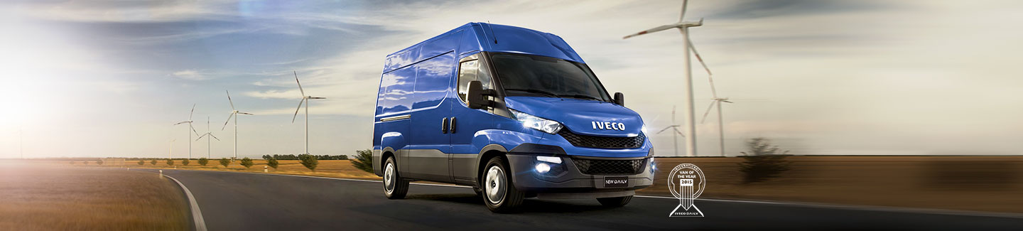 "New Iveco Daily is ""Van of the Year 2015"""