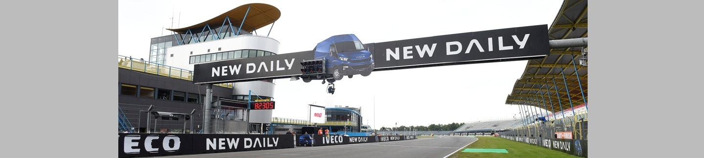 The Iveco New Daily is the Title Sponsor of the 2014 edition of the Assen MotoGP