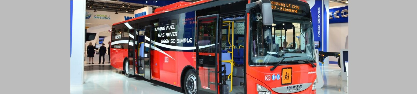 Iveco Bus to supply Deutsche Bahn with up to 710 Crossway buses
