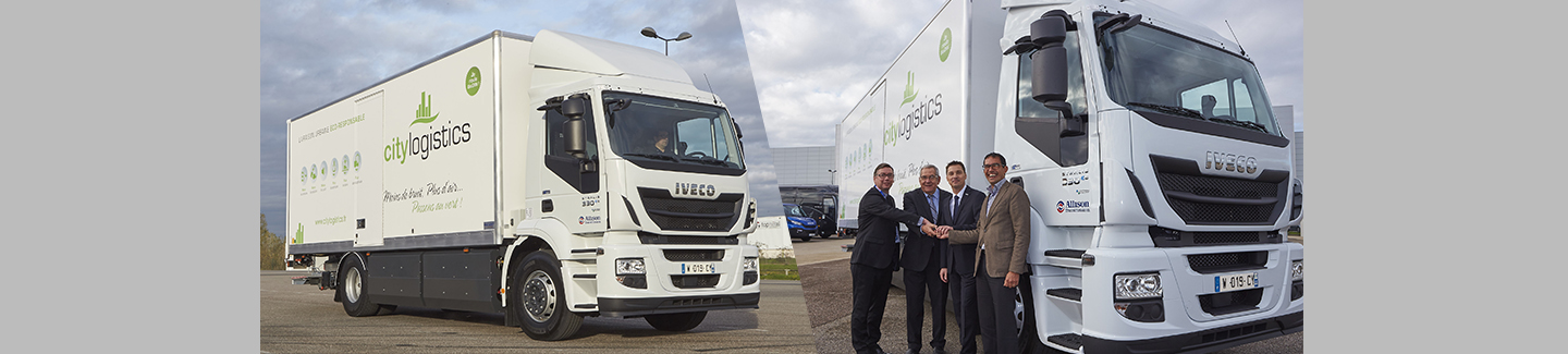 CityLogistics takes delivery of the 1000th commercial vehicle