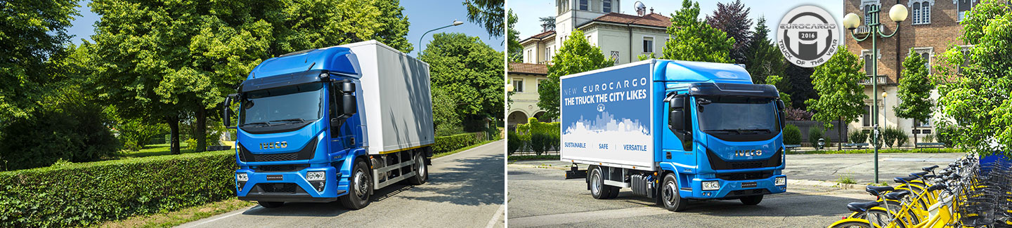 "The New Eurocargo, The Truck the City Likes, is the ""International Truck of the Year 2016"""