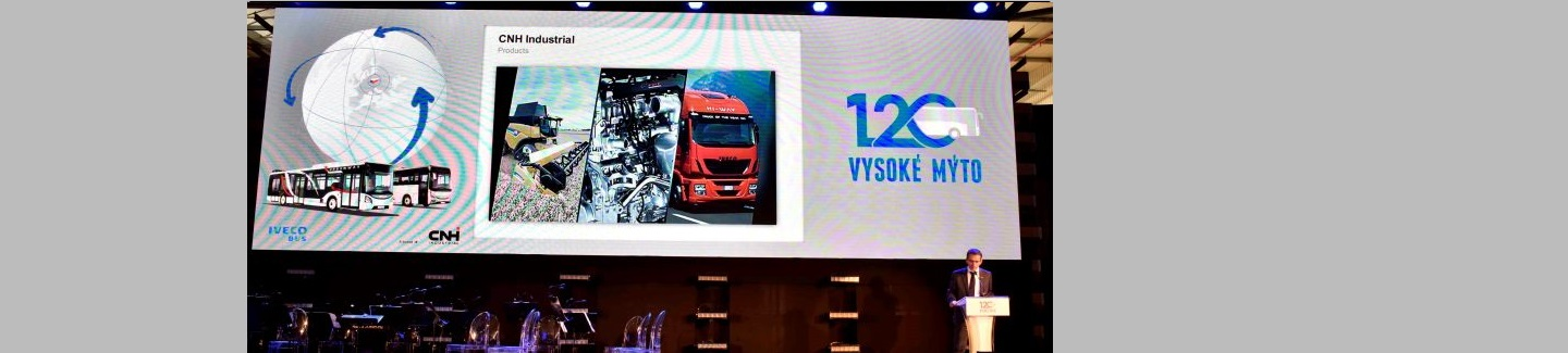 Iveco Bus celebrates the 120th Anniversary of the Vysoké Mýto plant