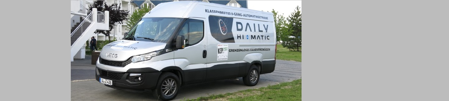 "Iveco Daily secures the ""Best KEP Transporter 2015"" award and Daily Hi-Matic wins the ""Innovation Award"" in Germany"
