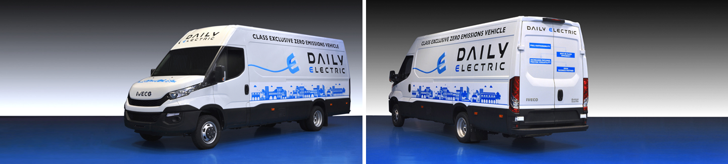 Iveco presents the New Daily Electric