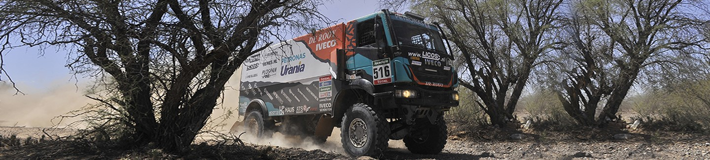 Dakar 2016: Iveco and De Rooy take yet another step towards victory