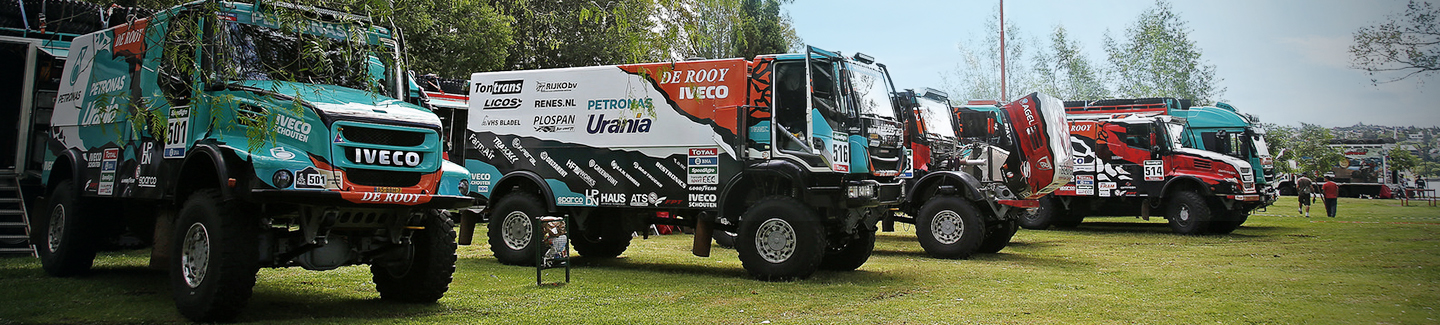 Dakar 2016: Iveco on the podium again in a shortened Stage 3