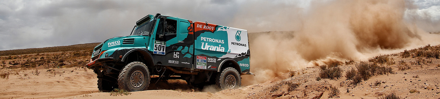 Dakar2016: Gerard De Rooy second in stage sixth just 7 seconds behind winner
