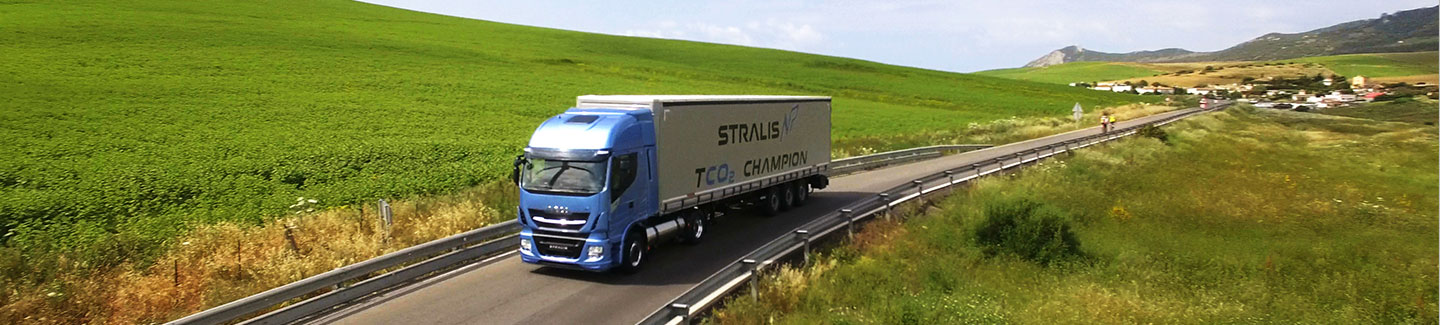 Iveco launches the New Stralis NP: a revolutionary gas truck for sustainable long-haul transport