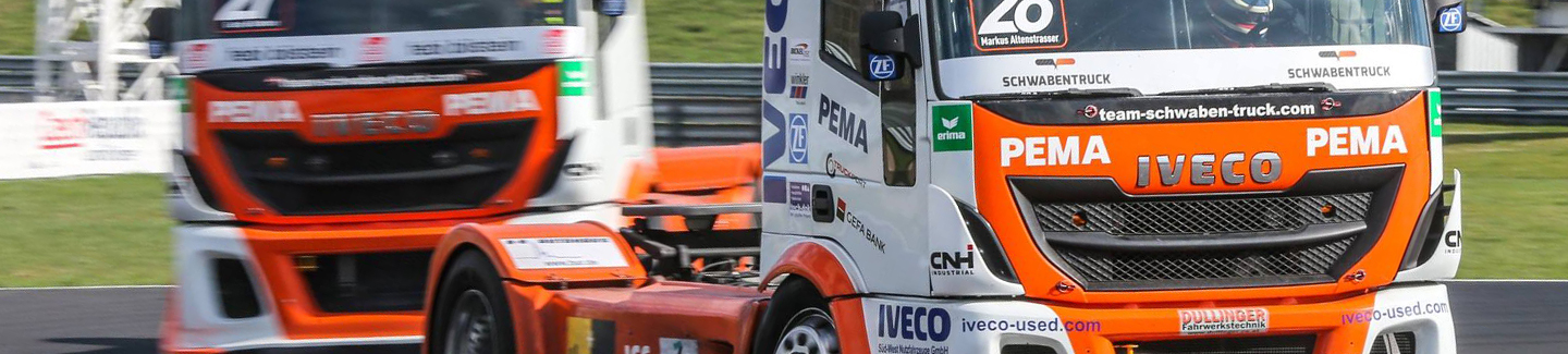 "Team Schwabentruck, powered by Iveco and competing in the FIA 2016 European Truck Race Championship, is to feature the ""OK Trucks"" brand on its new livery – a brand dedicated to sales and marketing of pre-owned vehicles certified by Iveco"