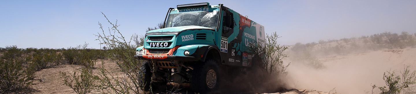 Dakar 2016: new stage victory for Iveco and double podium in the General