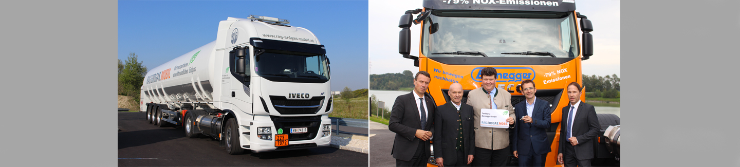 IVECO celebrates inauguration of Austria's first LNG filling station