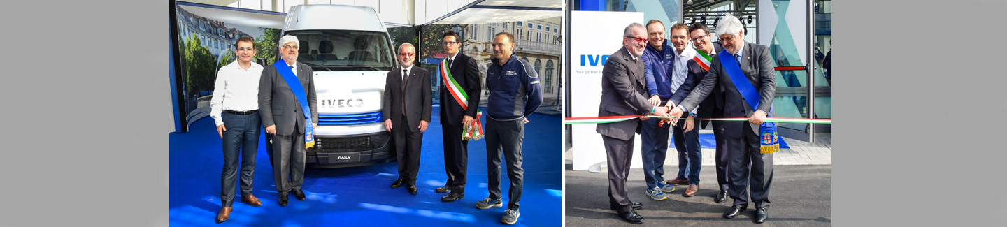 IVECO inaugurates the new Daily Center at its Suzzara plant to offer customers the full Daily experience