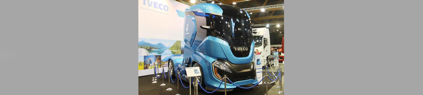 Iveco présente ses solutions de transport durable au salon professionnel du transport routier Truck and Transport 2017 à Bruxelles