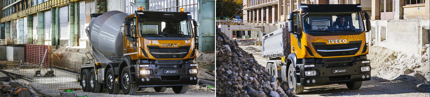 NEW STRALIS X-WAY: the completely new construction logistics and urban services range