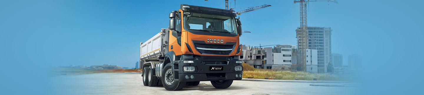 IVECO previews new light off-road truck Stralis X-WAY: best-in-class payload capacity and ultimate fuel efficiency technology