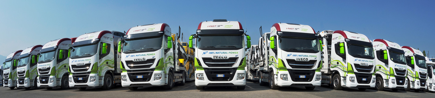 IVECO and ROLFO showcase the use of LNG vehicles in the car transport logistics sector at ECG Conference 2017