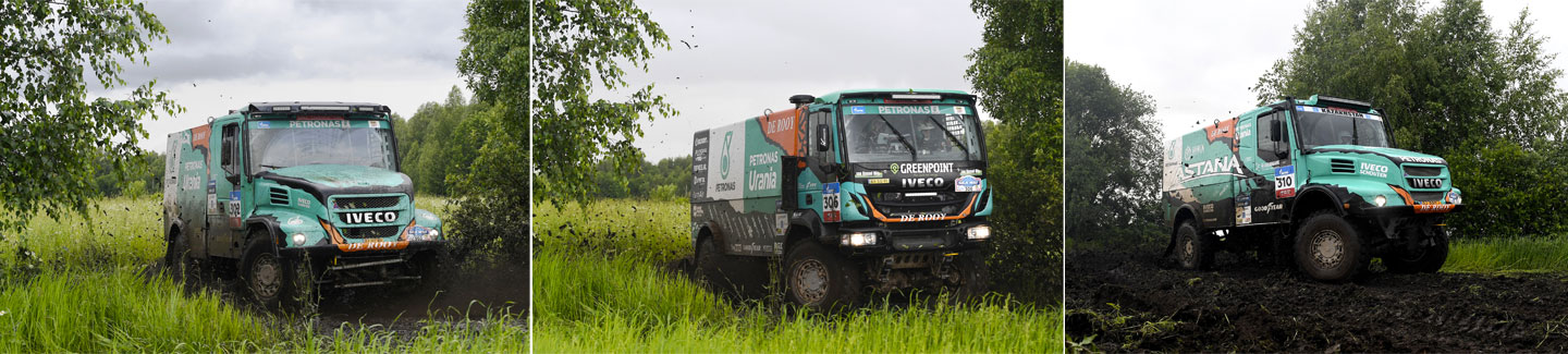 Silk Way Rally 2017: IVECO on the podium of the first stage from Moscow to Tcheboksary