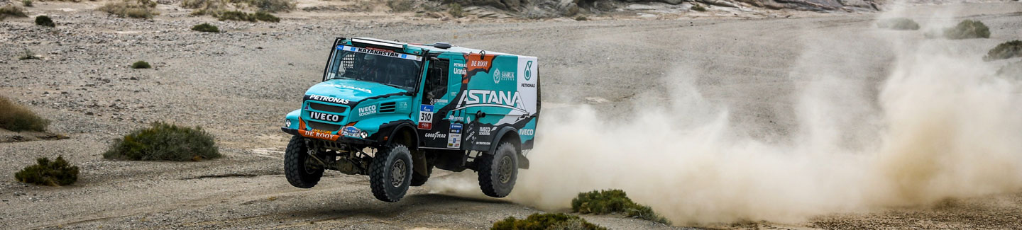 SILK WAY RALLY 2017: two IVECO trucks again in the top ten of overall ranking after 10th Leg