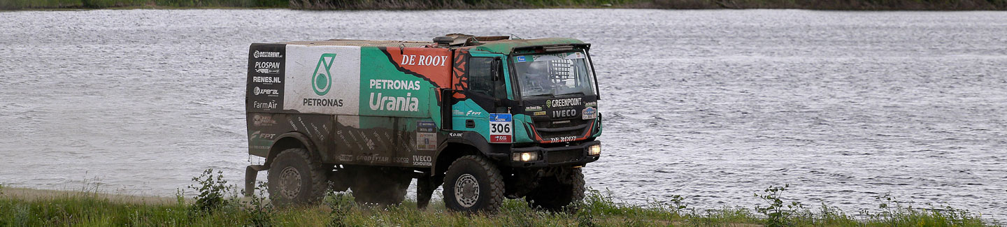 SILK WAY RALLY 2017: IVECO on podium again with Dutchman Ton Van Genugten and his Trakker Evolution