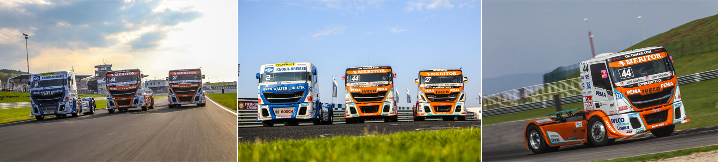 IVECO on the tracks of the European Truck Racing Championship 2018 with The Bullen of IVECO Magirus and new pilot Steffi Halm on board her Schwabentruck Stralis race truck