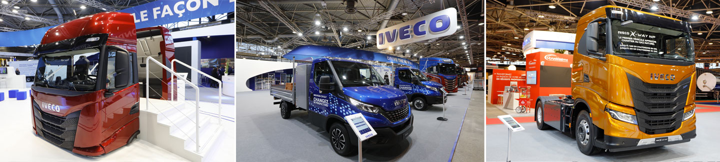 IVECO at Solutrans 2019: fuelled by new solutions