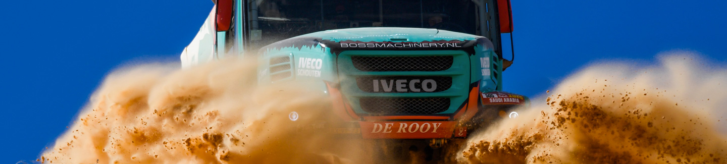 Two IVECOS among the best 10 trucks in Stage 5 of Dakar Rally 2020