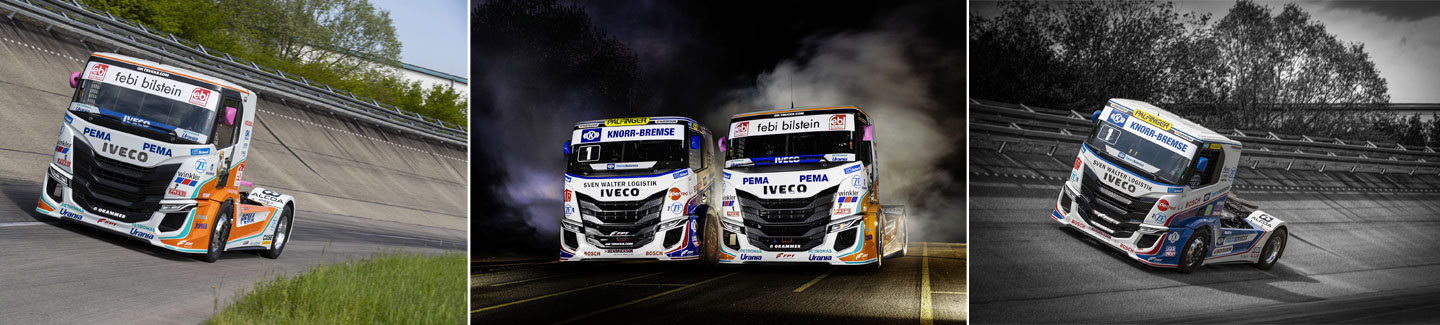 IVECO presents the new IVECO S-WAY R racing trucks