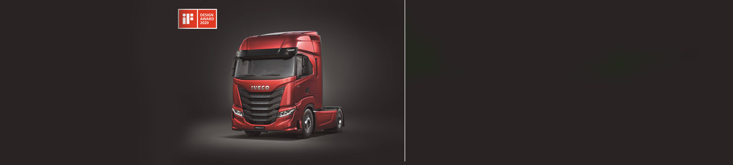 IVECO wins prestigious iF DESIGN AWARD 2020 for the IVECO S-Way