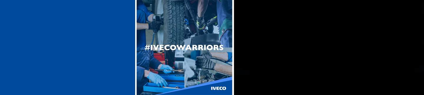 IVECO ensures service and maintenance of its vehicles to help keep transport operating