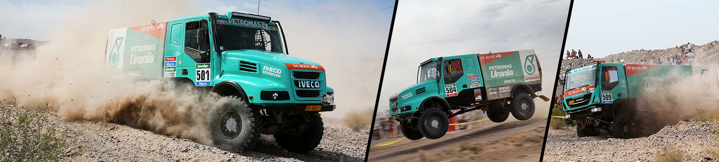 Dakar 2015, 3°stage: Gerard de Rooy finishes third after severe battle