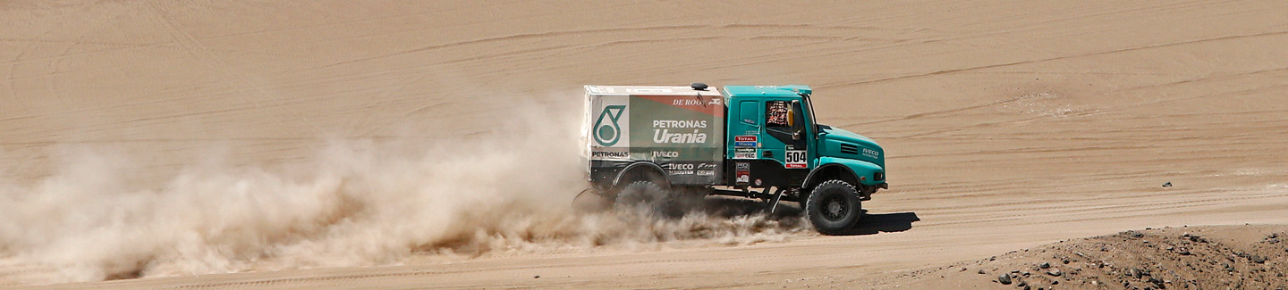 Dakar 2015: Gerard de Rooy places second in the demanding eighth stage with Iveco truck