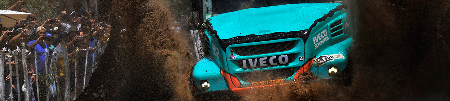 Dakar 2017: IVECO on the podium of the first stage of the famous Rally