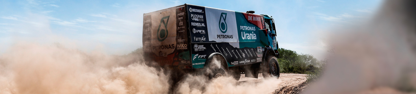 Dakar 2017: IVECO places two trucks in top 10 in very fast second stage
