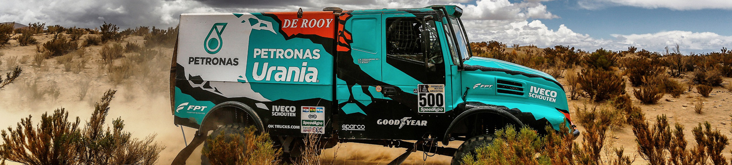 Dakar 2017: IVECO and De Rooy win second stage in a row in shortened special