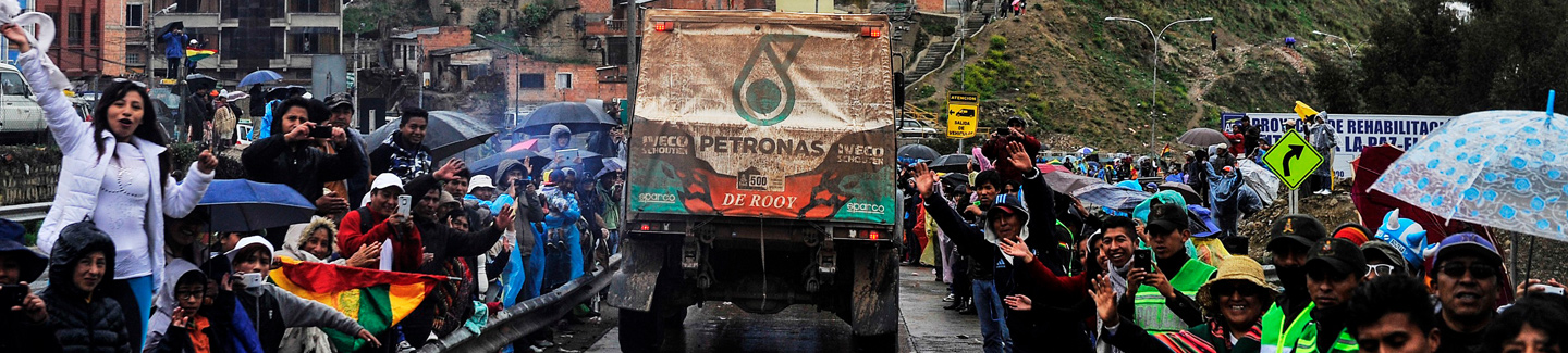 Dakar 2017: IVECO in the lead as the crews take their rest day