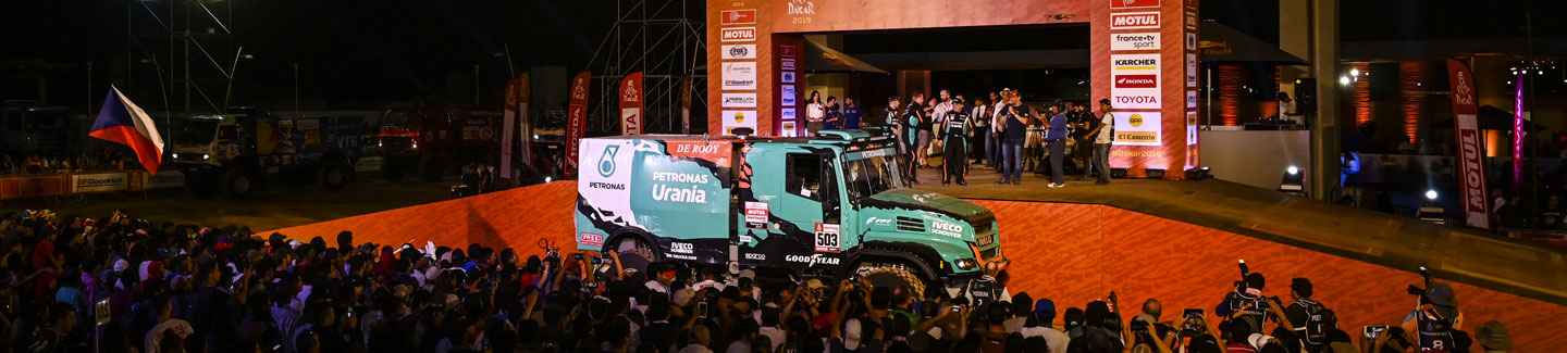 Team PETRONAS De Rooy IVECO ready to compete for victory in the Dakar 2019 rally raid