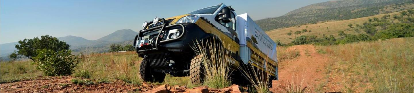 """Daily4Africa"": the Iveco Daily 4x4 goes on tour across Africa"
